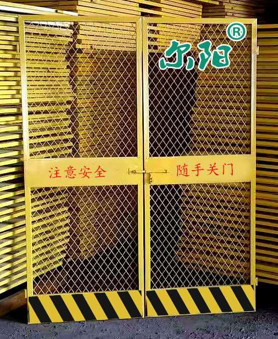 施工电梯防护门现货